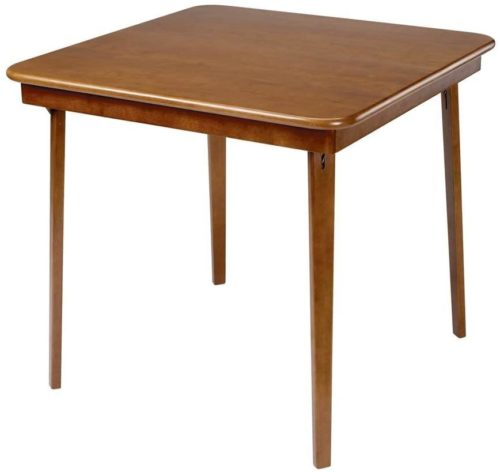 Stakmore Wood Folding Card Table