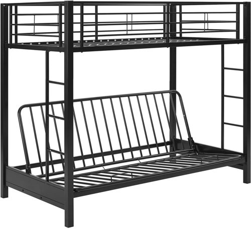 Walker Edison Furniture Company Futon Bunk Bed