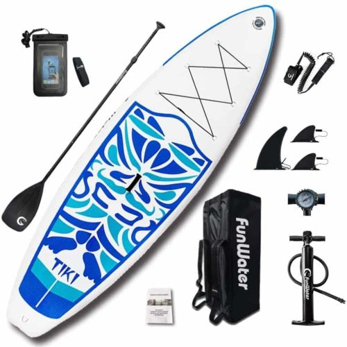 FunWater Inflatable Ultra-Light Paddle Board