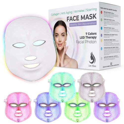 Lexi White Beauty Red Light Therapy LED Face Mask