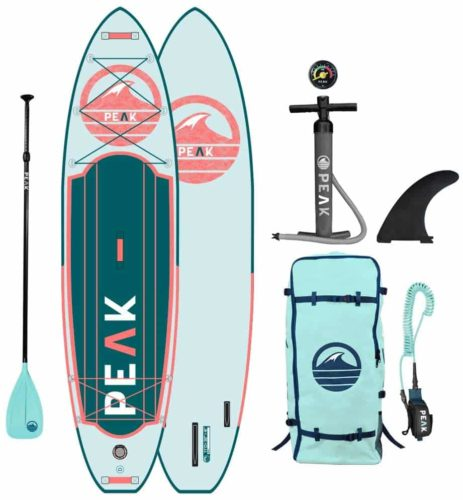 Peak Expedition Inflatable Stand-Up Paddle Board
